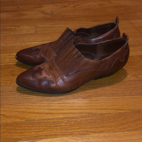 Vintage western booties